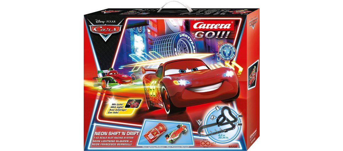 Carrera® Autorennbahn mit Looping, »Carrera®GO!!! Disney Pixar Cars - Neon shift'n drift«