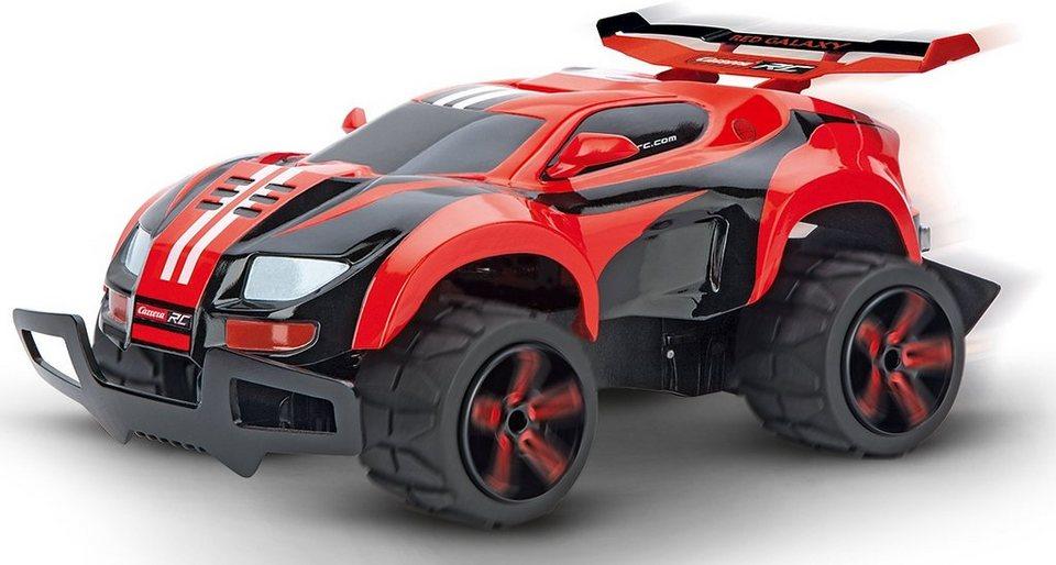 Carrera® RC Auto Komplett Set mit Akku und Ladegerät Maßstab 1:18 , »Carrera®RC Red Galaxy Offr in rot/schwarz
