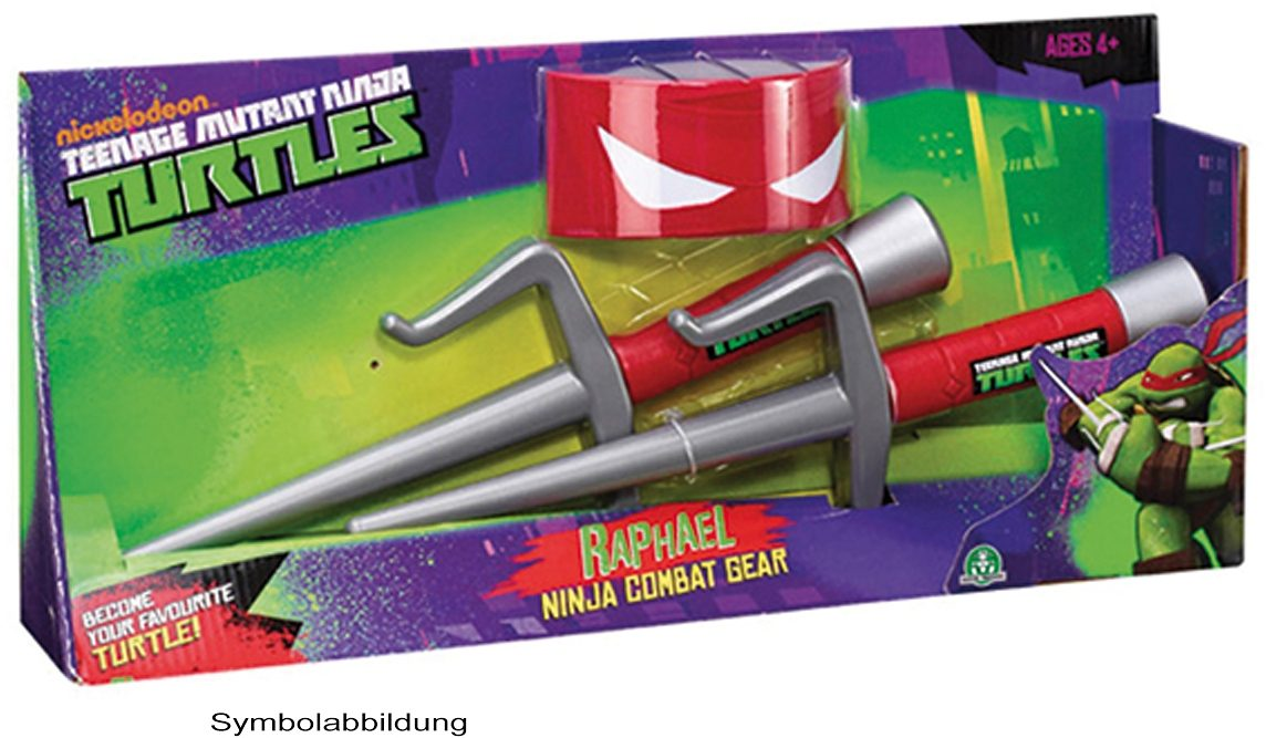 Rollenspiel-Set, »Teenage Mutant Ninja Turtles Set Raphael« (3tlg.)