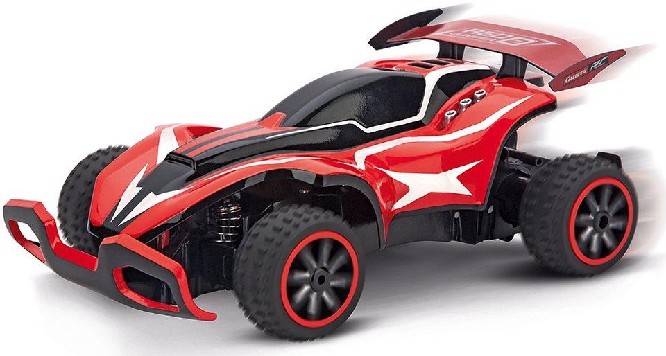 Carrera® RC Auto Komplett Set mit Akku und Ladegerät Maßstab 1:20, »Carrera®RC Red Jumper 2« in rot