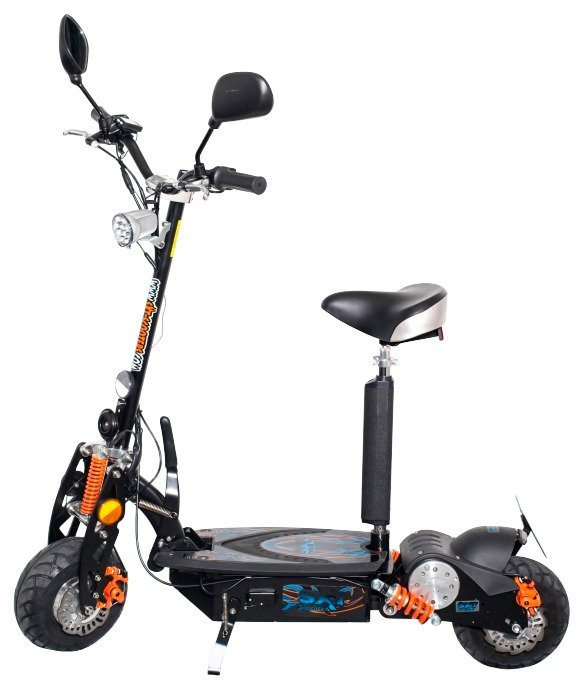 E-Scooter »SXT500 EEC«, 500 Watt, 25 km/h in schwarz