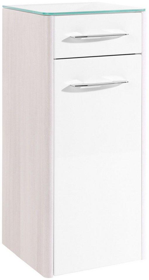 Unterschrank »Orlando«, 35 cm in silberfarben/weiß