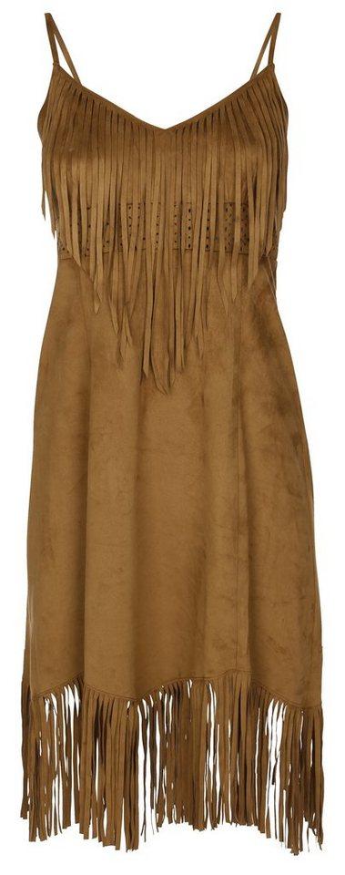 myMO Kleid in hellbraun