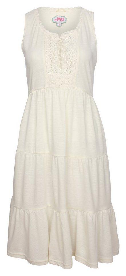 myMO Kleid in wollweiss melange