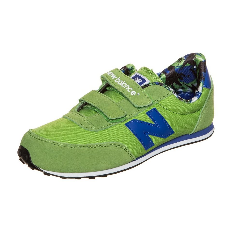 NEW BALANCE KE410-TNY-M Sneaker Kinder in hellgrün / blau
