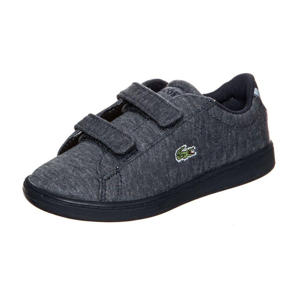 LACOSTE Carnaby Evo Sneaker Kleinkinder in blau