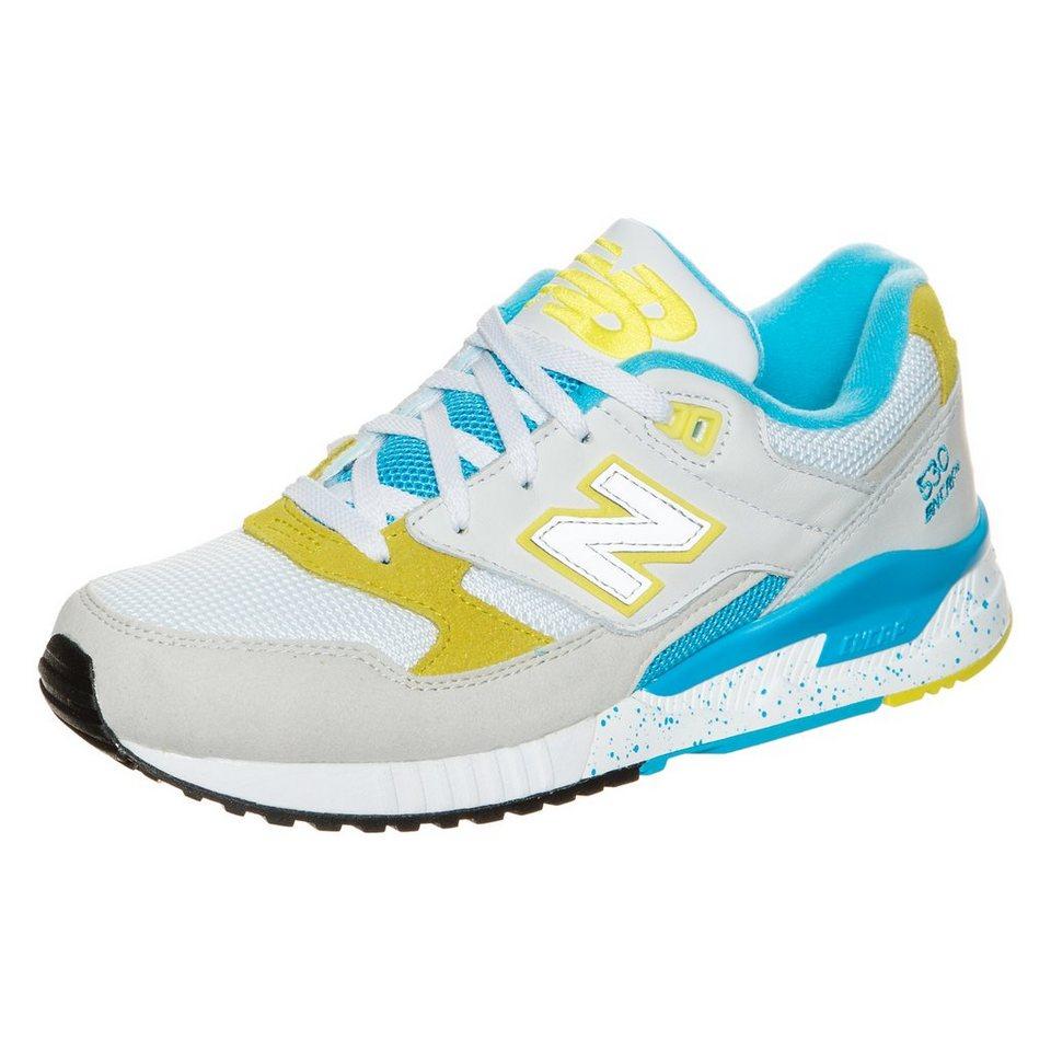NEW BALANCE W530-PSB-B Sneaker Damen in grau / gelb / türkis