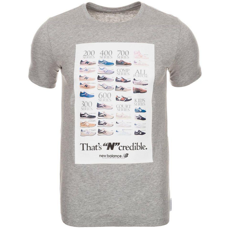 NEW BALANCE EMT61734 Ncredible T-Shirt Herren in grau