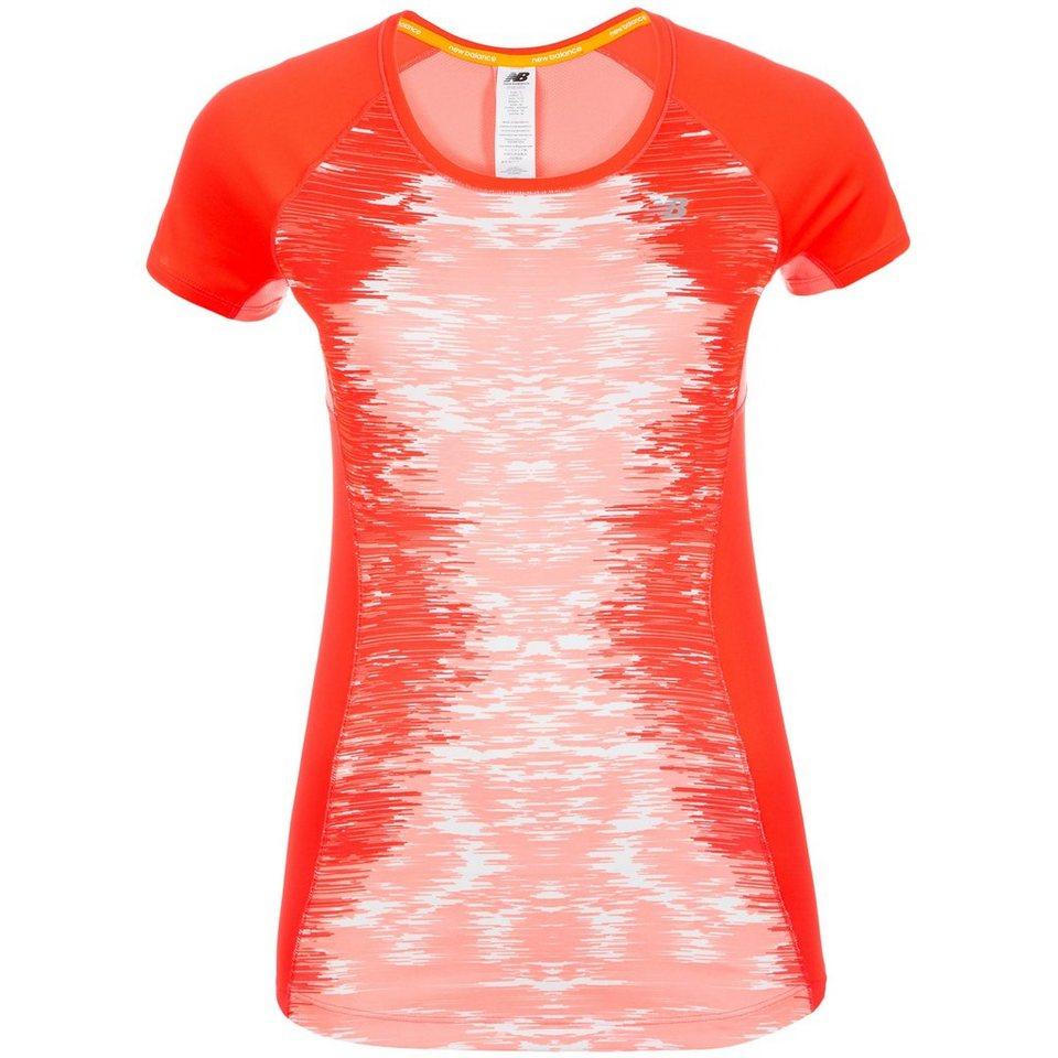 NEW BALANCE Ice Laufshirt Damen in pink