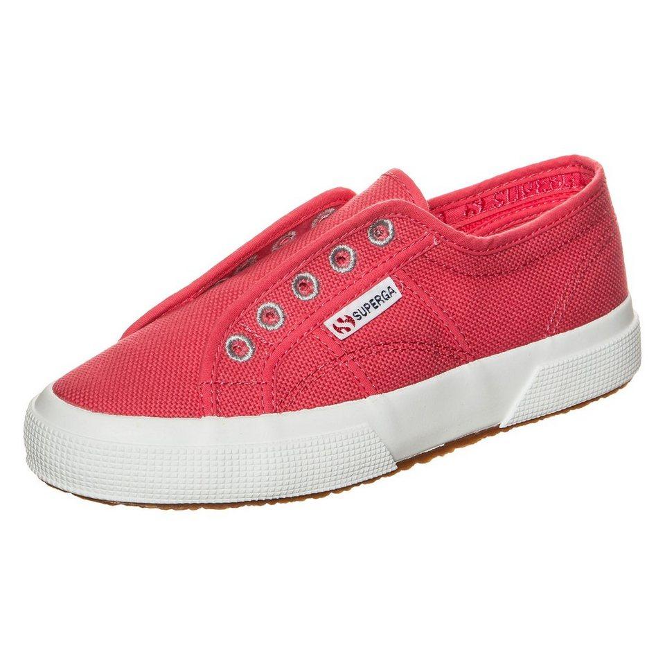 Superga 2750 Cotj Slipon Sneaker Kinder in pink