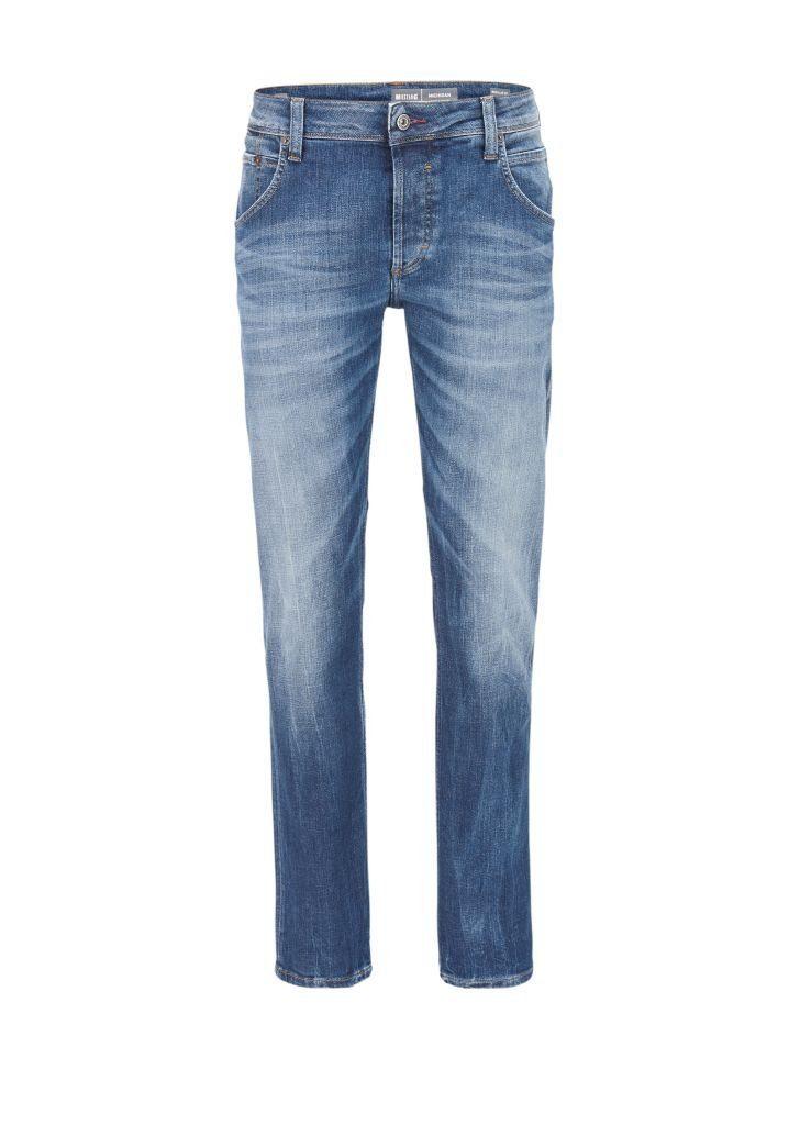 MUSTANG Jeans Hose »Michigan Straight«, Lässig geschnittene Jeans online kaufen | OTTO