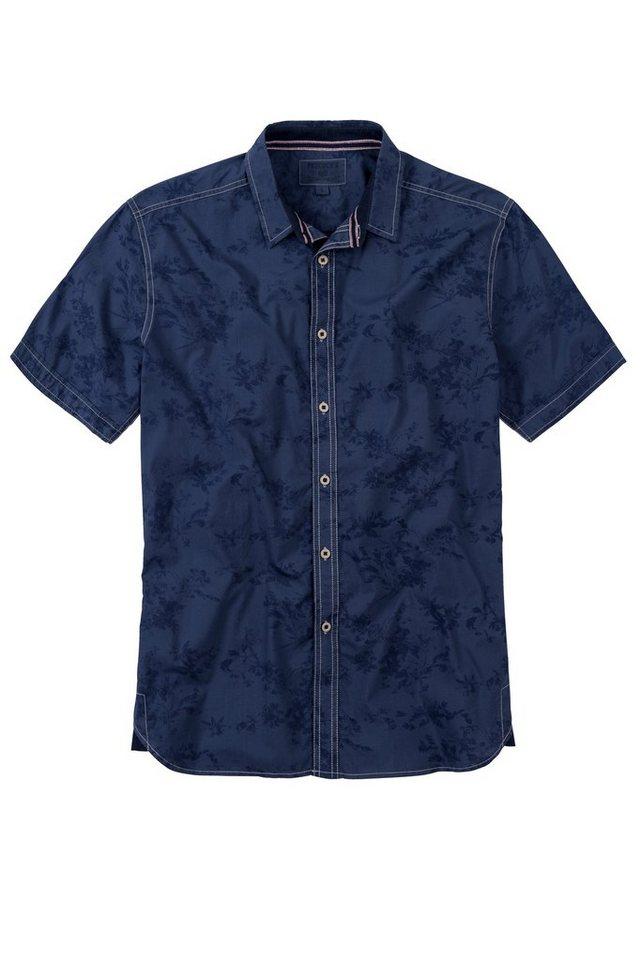 PADDOCK'S Hemd in vintage indigo