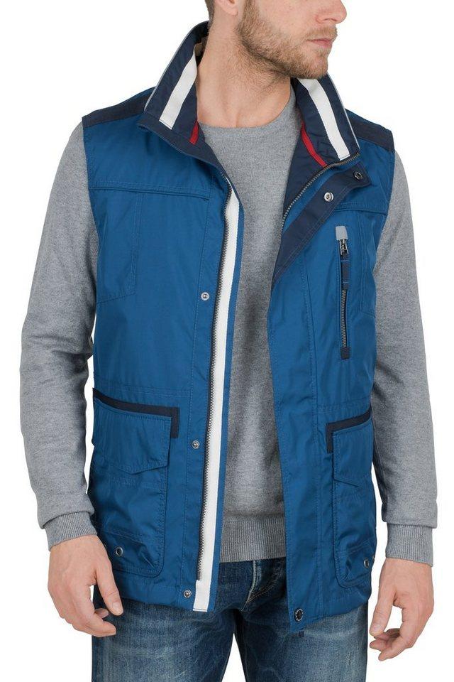S4 Jackets waterproof Weste »HAAKON« in nautical blue