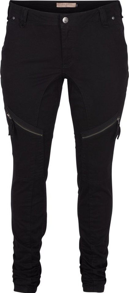 Zizzi Hosen in Black