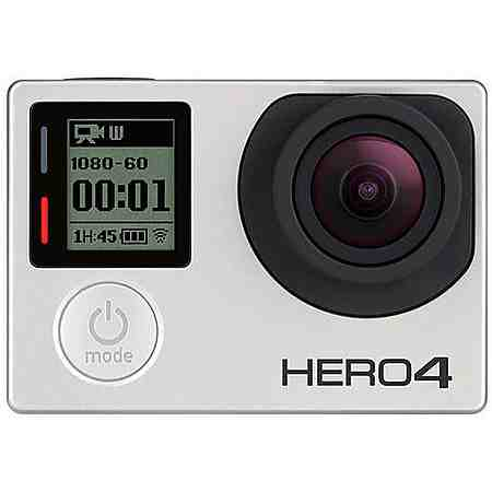 GoPro Hero 4 Silver Adventure Edition 4K (Ultra-HD) Actioncam, WLAN, Bluetooth, Staubfest