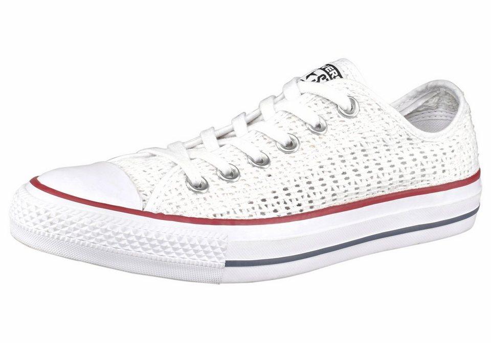 Converse »Chuck Taylor All Star Crochet Ox« Sneaker in weiß