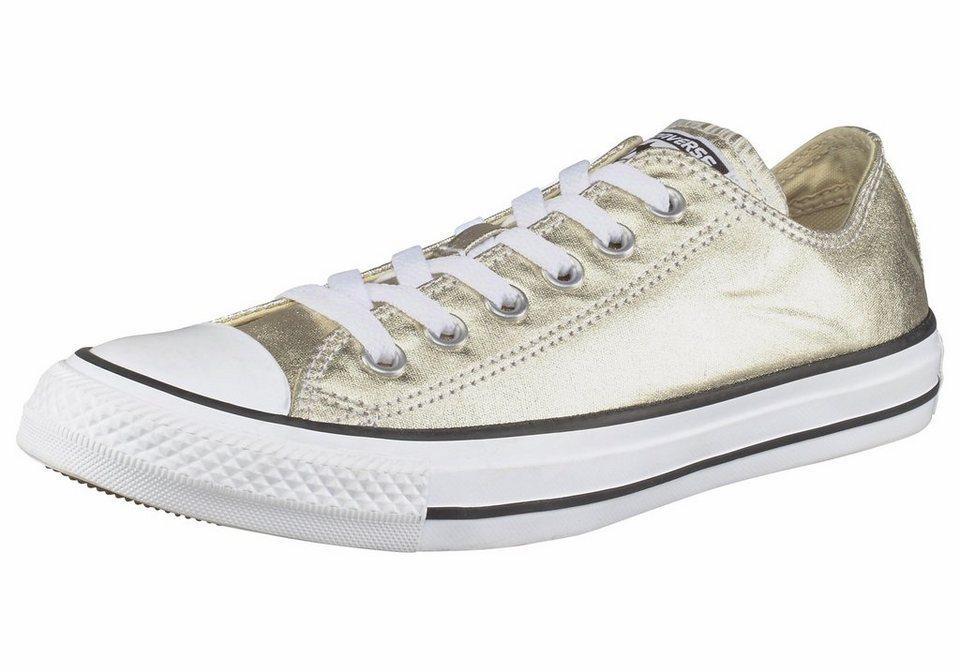 Converse »Chuck Taylor All Star Ox Seasonal Metallic« Sneaker in goldfarben