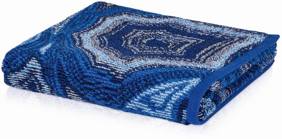 Handtuch, Möve, »Jewel«, mit buntem Muster in blau