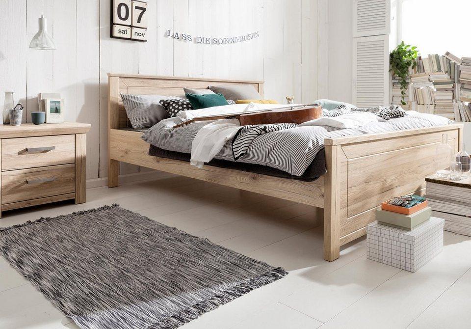 set one by Musterring Bett »Oakland« Typ 81 und 83, in zwei Breiten, San Remo Sand in San Remo Sand