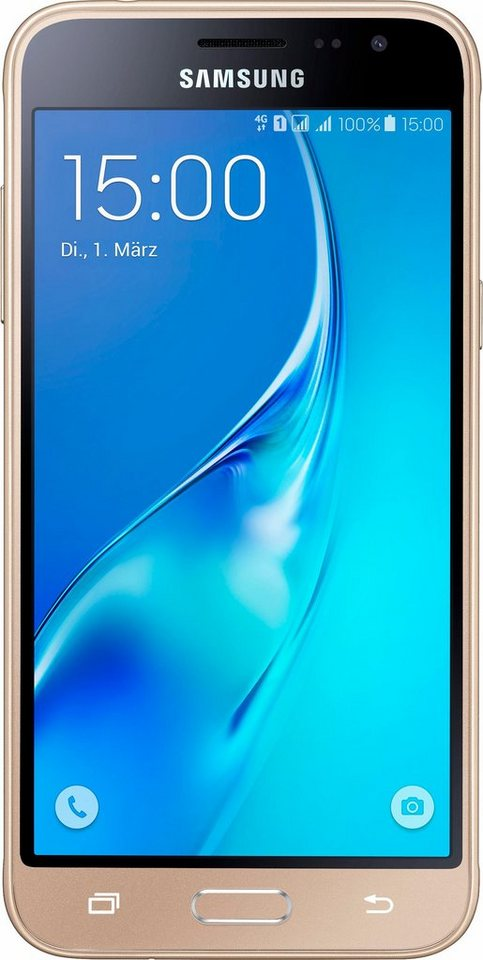 samsung galaxy j3 2016 duos smartphone 12 6 cm 5 zoll display lte 4g android 5 1. Black Bedroom Furniture Sets. Home Design Ideas