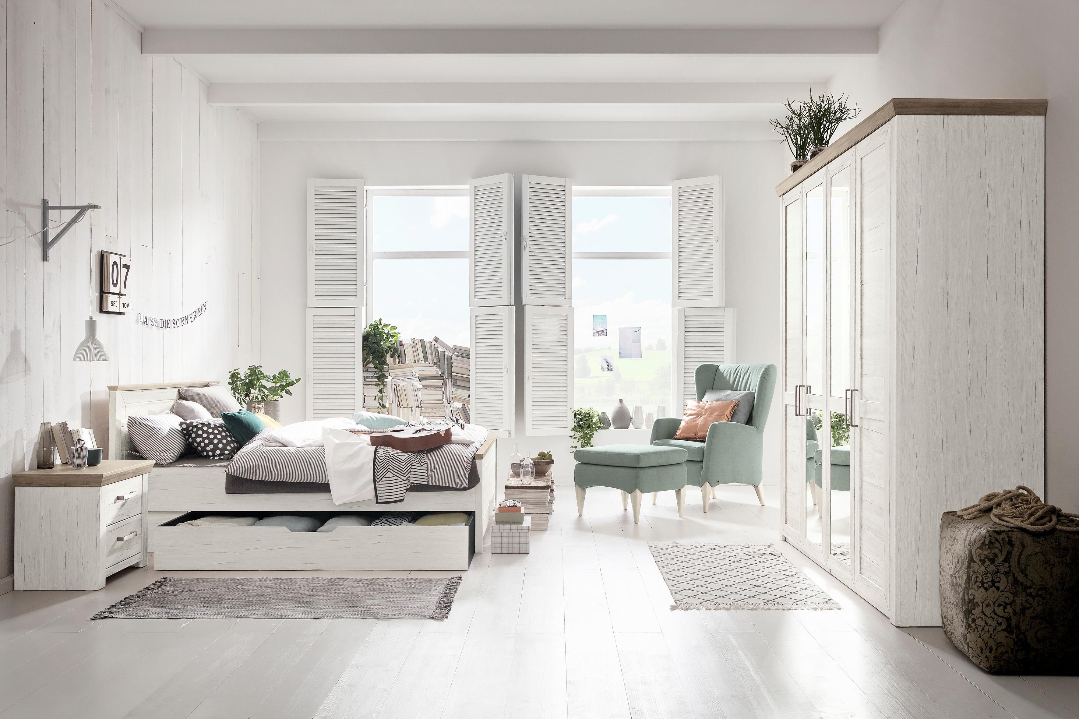 set one by Musterring Drehtürenschrank »Oakland« Typ 71 3SP, San Remo Sand, 5 türig im Landhausstil online kaufen | OTTO