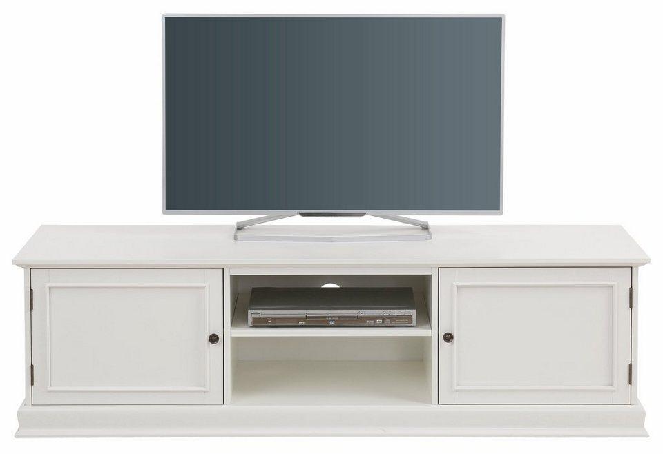Home affaire TV-Lowboard »Cross«, Breite 160 cm in weiß