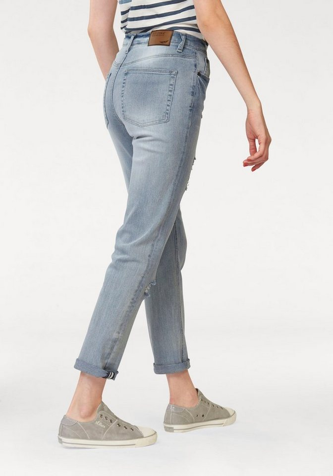 Arizona Dad-Jeans in bleached