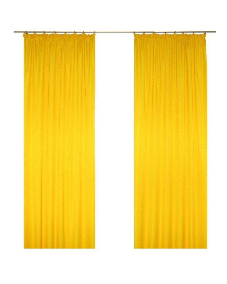 Gardine, Wirth, »Daria« (1 Stück) in gelb