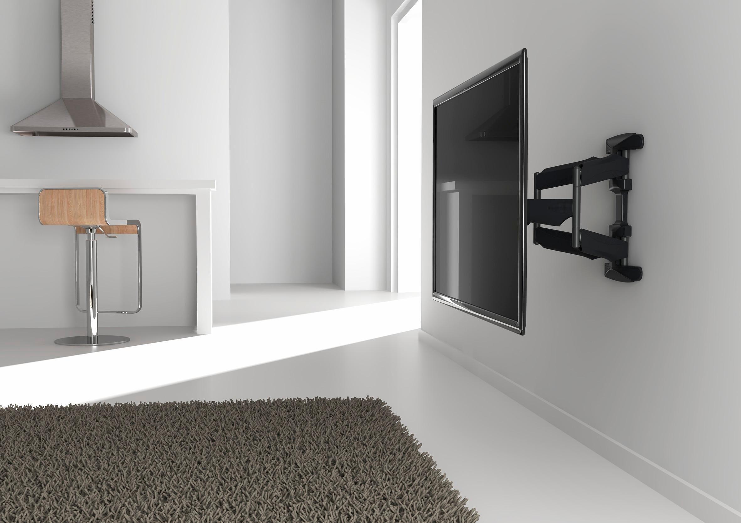 vogel's® TV-Wandhalter »BASE 45 L« schwenkbar, für 102-165 cm (40-65 Zoll) Geräte, VESA 600x400