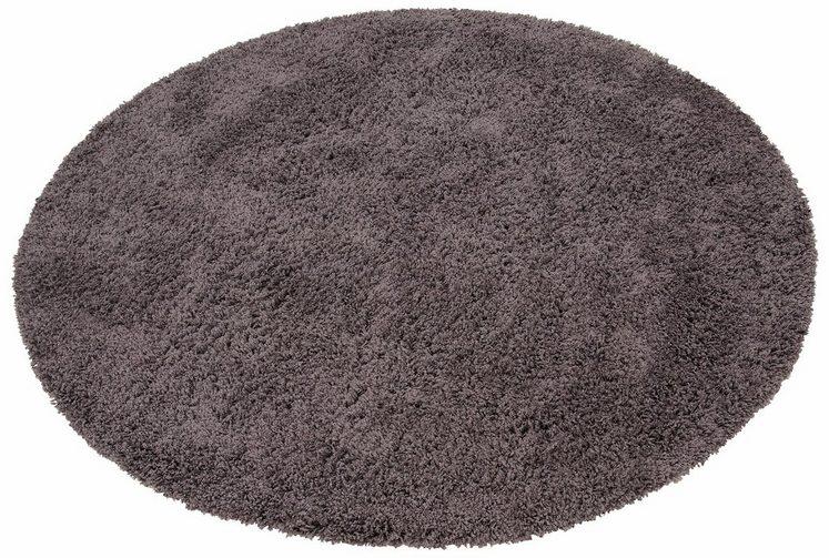 Hochflor-Teppich »Viva«, Home affaire, rund, Höhe 45 mm, gewebt