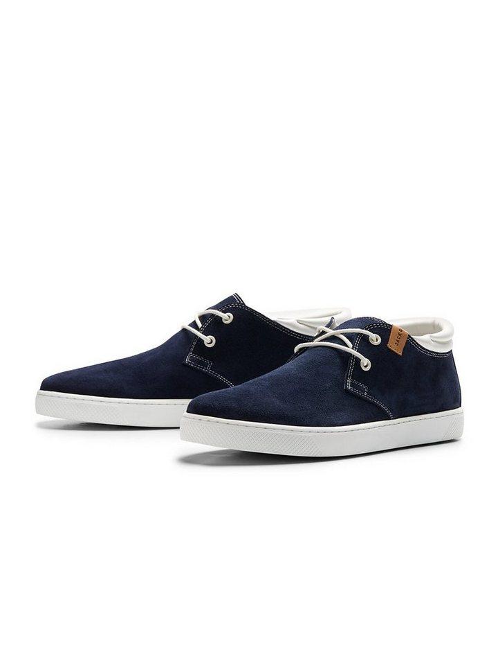 Jack & Jones Wildleder- Schuhe in Navy Blazer