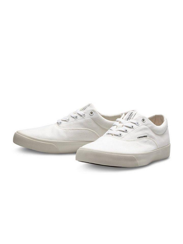 Jack & Jones Leinen- Schuhe in Bright White