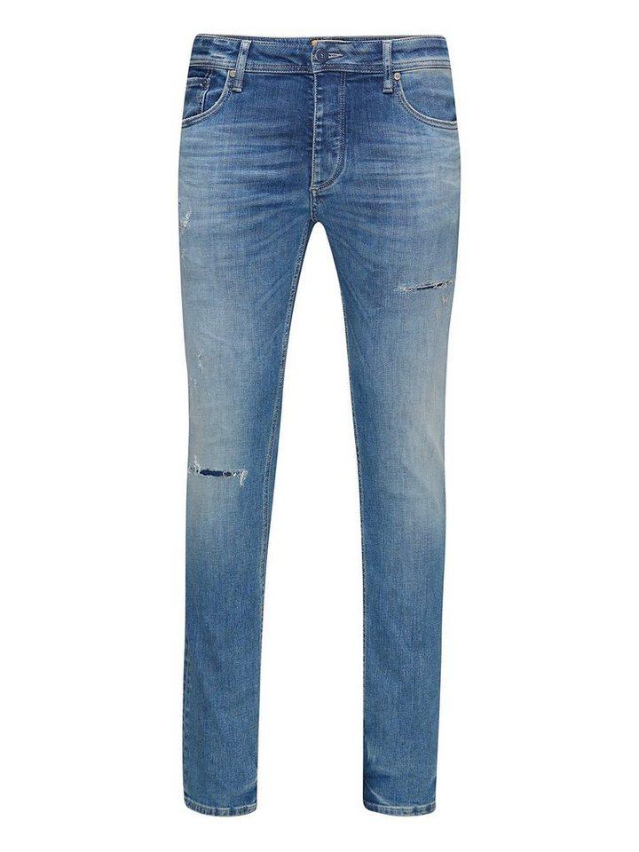 Jack & Jones Tim Original JJ 925 Slim Fit Jeans in Blue Denim