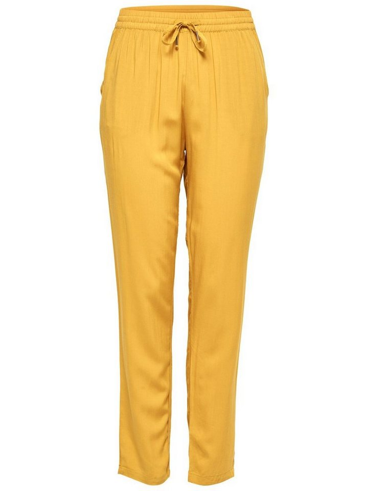 Only Lässige Hose in Spruce Yellow