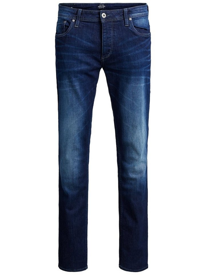 Jack & Jones Tim Org SC 968 Slim Fit Jeans in Blue Denim