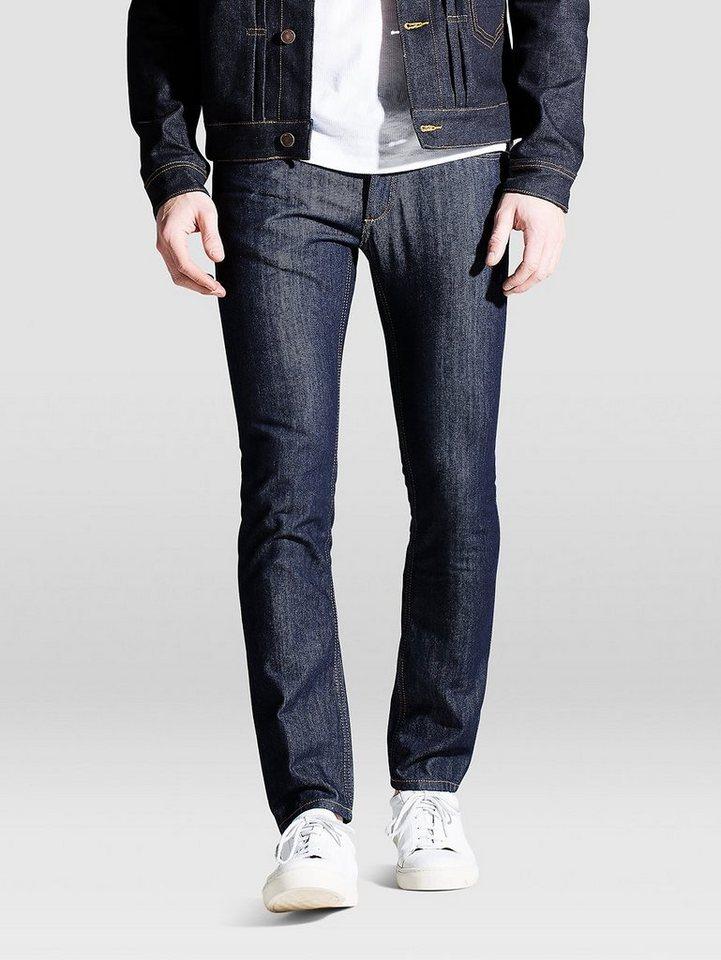 Jack & Jones Tim Original AT 011 Slim Fit Jeans in Blue Denim