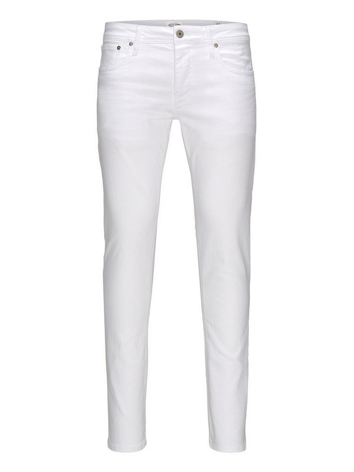 Jack & Jones Glenn Original jos 121 Slim Fit Jeans in White