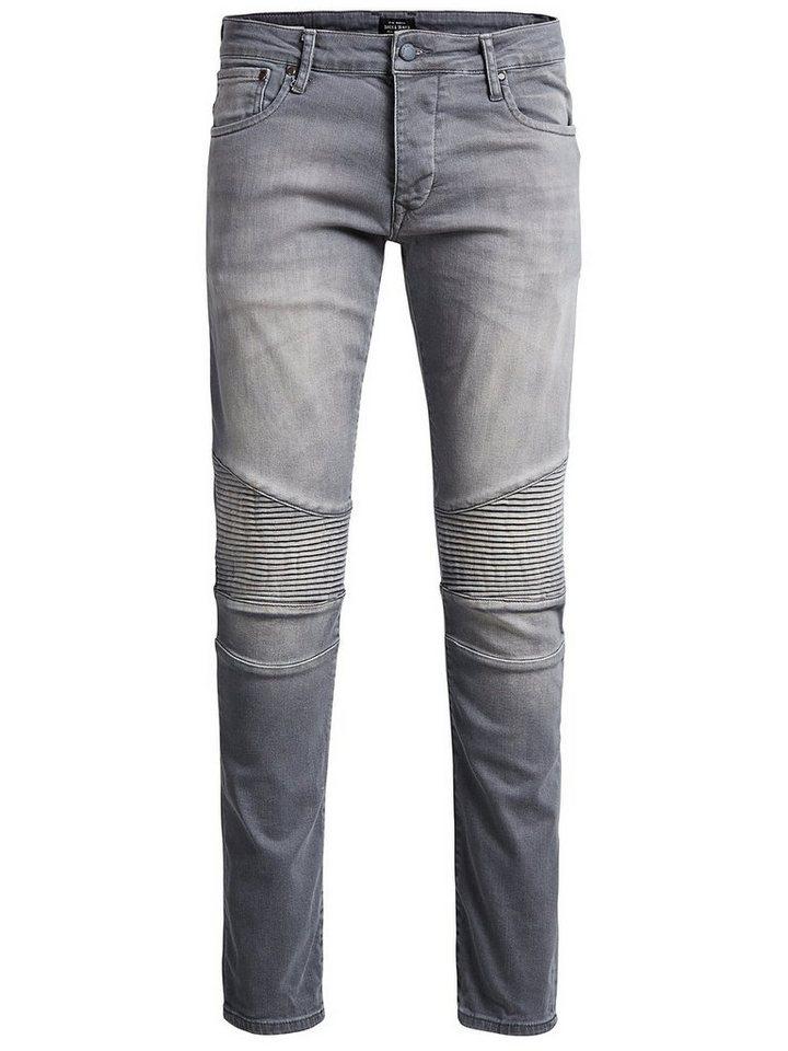 Jack & Jones Glenn Ryder JOS 433 Slim Fit Jeans in Grey Denim