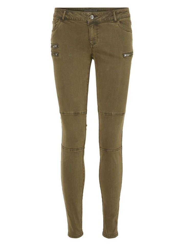 Vero Moda Bella LW Skinny fit jeans in Peat