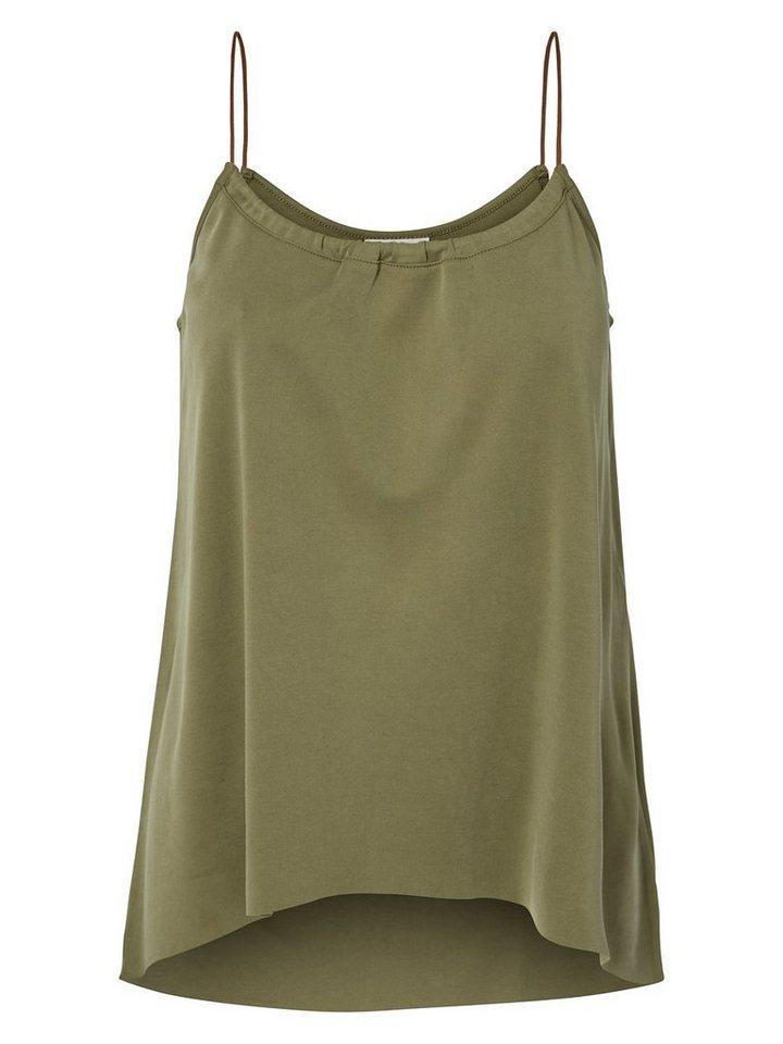 Vero Moda Jersey- Top in Ivy Green