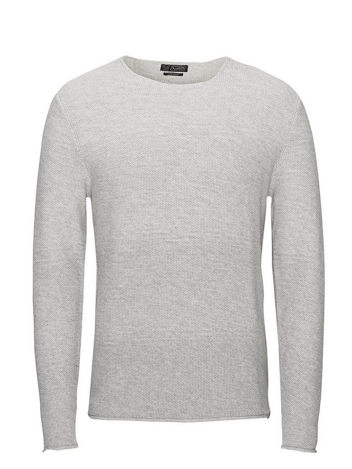 Jack & Jones Vielseitiger Strick Pullover in Treated White