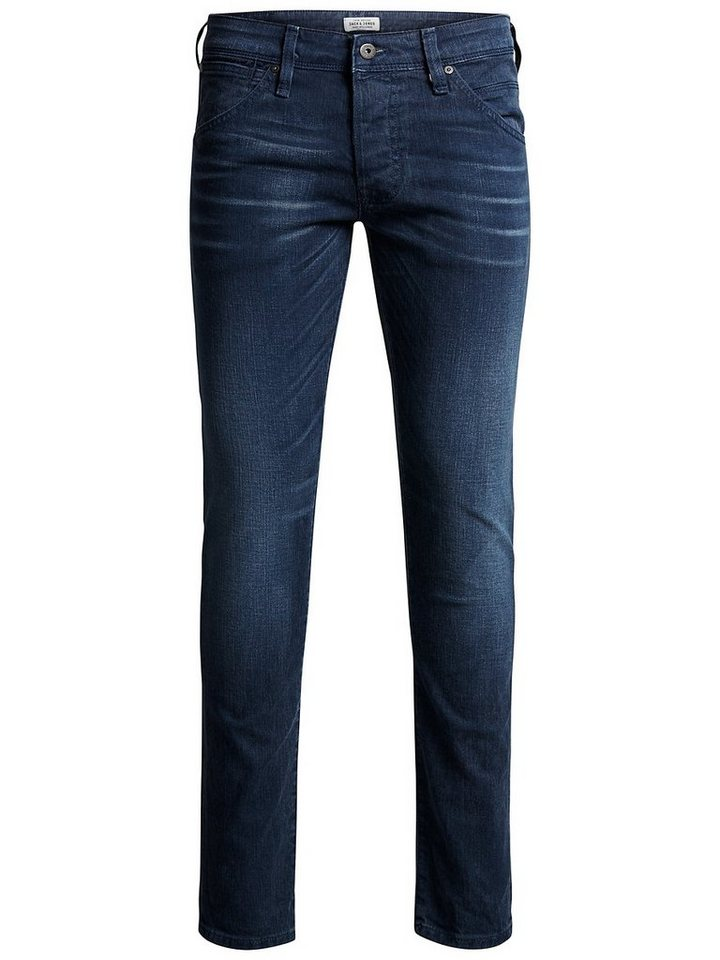 Jack & Jones Glenn Fox JJ 942 Slim Fit Jeans in Total Eclipse