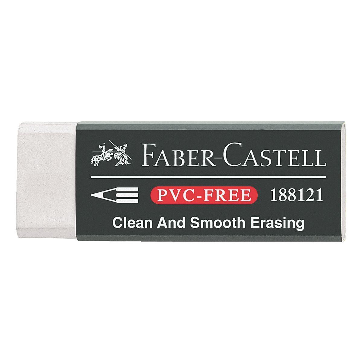 Faber-Castell Kunststoff-Radierer