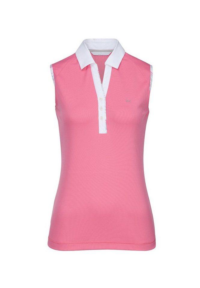 BRAX GOLF Damenpoloshirt »SENNA« in HOT PINK