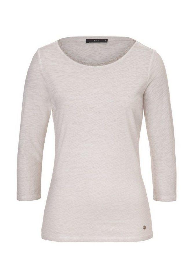 BRAX T-Shirt »COLLETTA« in PEARL