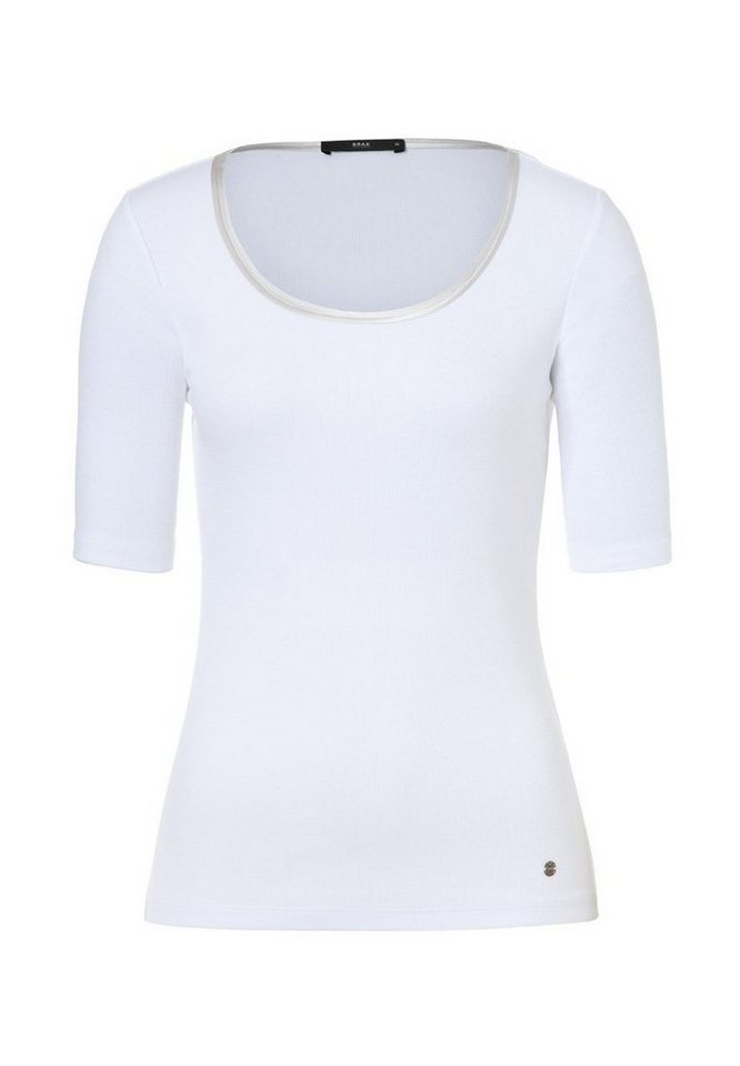BRAX Damenshirt »CLARA« in WHITE