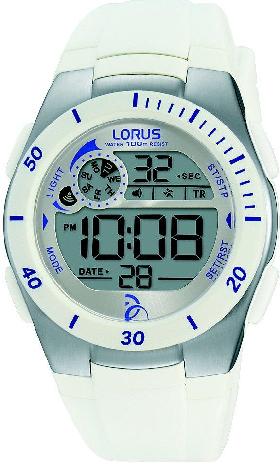 LORUS Chronograph »R2379KX9« in weiß