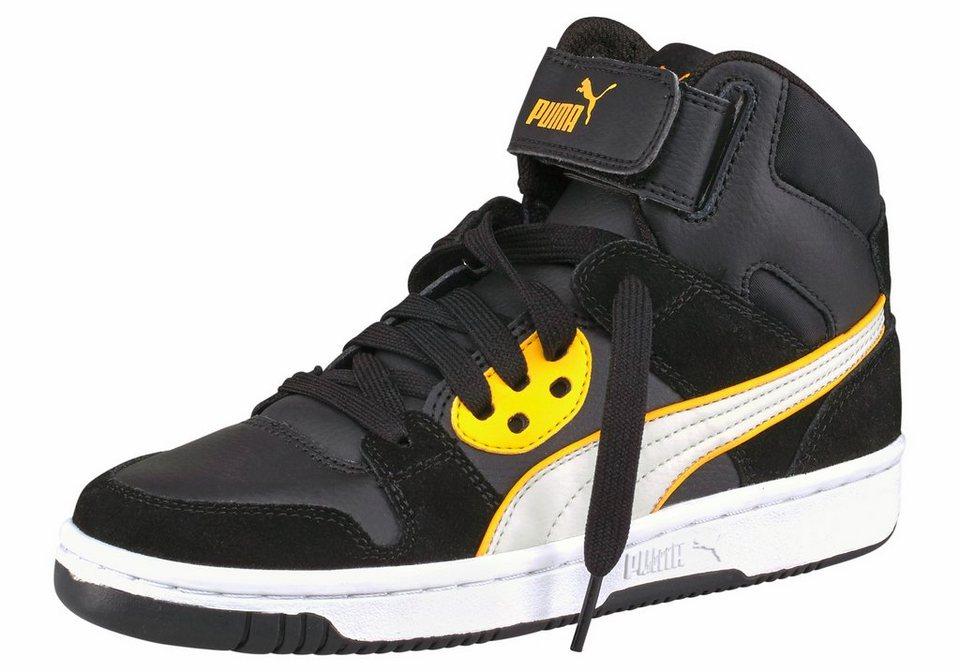 PUMA Sneaker »Rebound Street SD« in schwarz-hellgrau