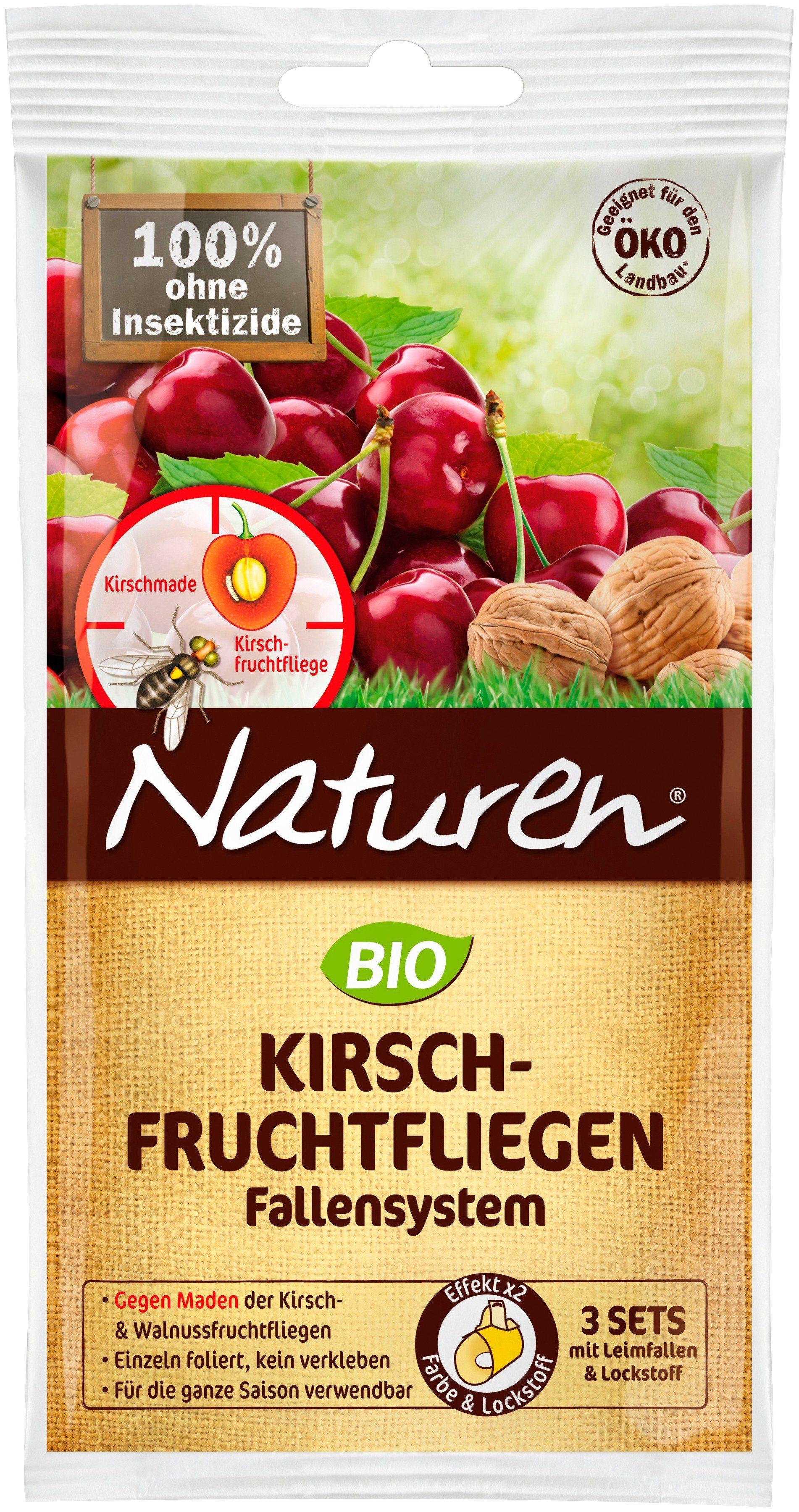 Pflanzenschutz »NATUREN Bio Kirschfruchtfliegen Fallensystem« (3 Sets)
