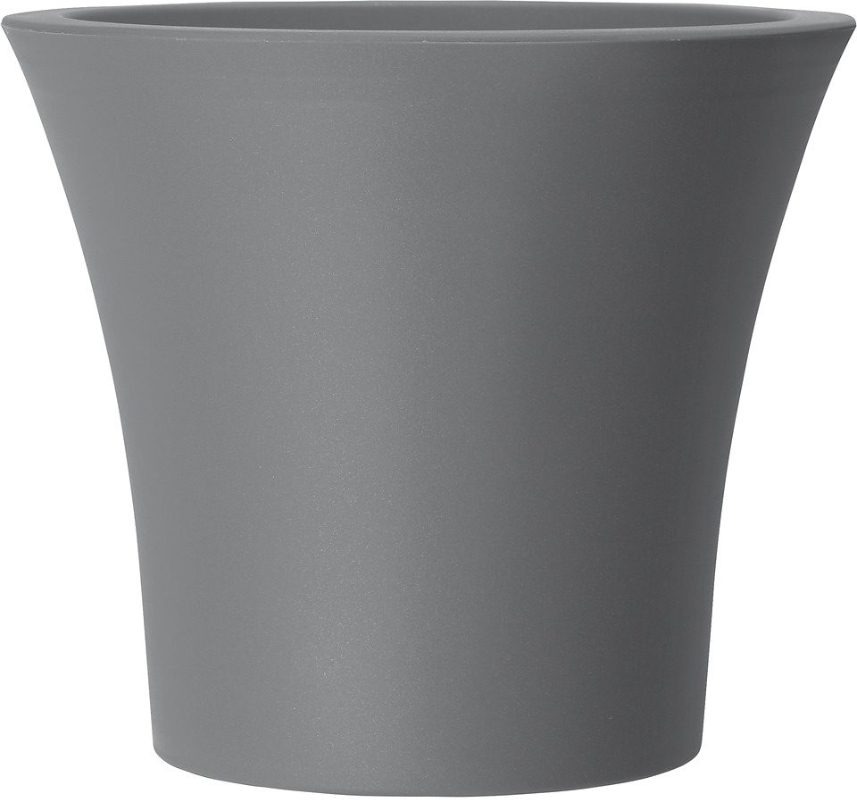 Pflanzkübel »City Curve«, grau (40 cm)